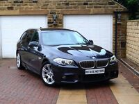 2012 BMW 520D M SPORT AUTO ESTATE ***1 OWNER, FBMWSH, SAT NAV*** ****** step 525d 530d 3 5 7 series