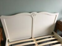 Beautiful Next double cream bed frame