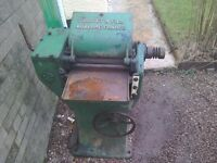 Guillet and fils auxerre wood planing machine