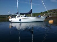 Swinging Mooring for sale secluded bay scotland