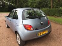 FORD KA 1.3 STYLE CLIMATE 07 REG 11 MONTHS MOT LADY OWNER CD PLAYER LOW INSURANCE 48+ MPG