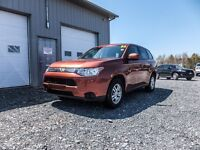 2014 Mitsubishi Outlander AWD! WARRANTY TO 2024! LOADED!