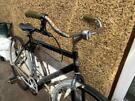Vintage classic looking bike black bicycle