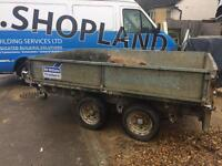 Ifor Williams trailer twin axle 8ft by 5ft
