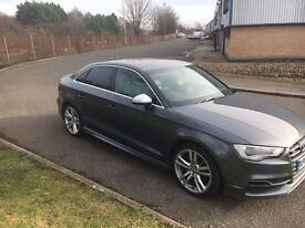 2014/64 Audi S3 2.0Turbo Quattro Saloon✅300BHP✅FULL LEATHER NAV✅CHEAPEST SALOON IN UK 🇬🇧
