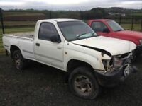2000 Mercedes Vito, Toyota Hilux, Toyota Hiace, Ford Ranger for parts
