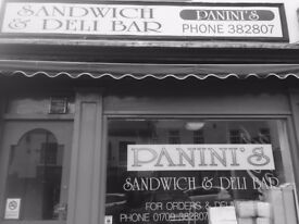 Town centre sandwich shop