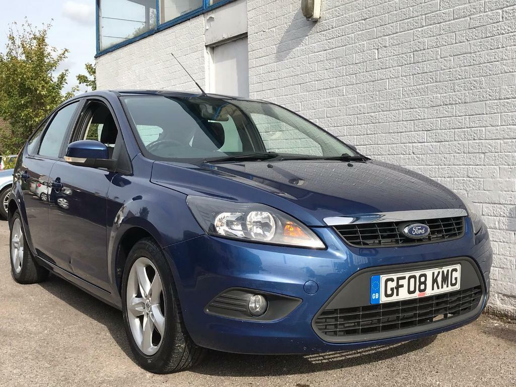 2008 FORD FOCUS, 1.8 ZETEC, 5 DOOR, BLUE