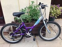 Raleigh Starz 6 speed Revo Swift girls bicycle