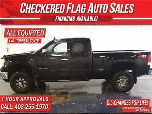 2011 GMC SIERRA 2500HD SLE Z/71-2.5 Lift-4X4-Factory Tow-6.0L V8