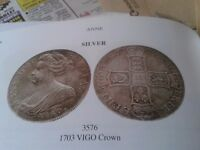 Coins Wanted- Old English Silver Coins.