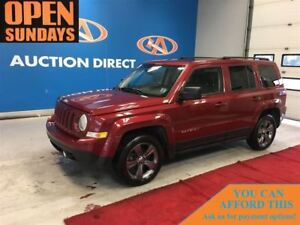 2014 Jeep Patriot NORTH ED! LEATHER! SUNROOF! FINANCE NOW!