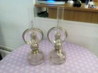 Pair of Antique Oil Lamps..£50.o.n.o.