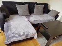 Double bedroom,Fridge,Corner sofa,Furnitures