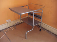 metal computer desk /trolley