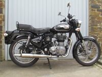 Royal Enfield 500 Classic EFI, a beautiful timeless motorbike