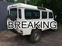 2002 Landrover Land Rover 110 Defender 300 TDi Left Hand Drive Breaking All Parts Discounted Spares
