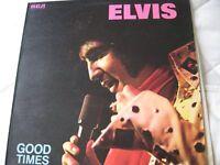 "elvis presley record ""elvis good times """