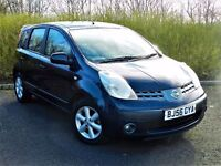 SUPERB CONDITION!! NISSAN NOTE 1.4 SE- 5DR -MANUAL - FULL DEALER SERVICE HISTORY - DRIVES PERFECT