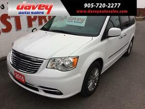 2016 Chrysler Town & Country Touring-L LEATHER INTERIOR, NAVI...