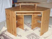 Pine Corner Desk