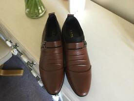 Brand new gents leather shoes