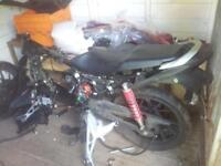 breaking honda Cb125f for parts