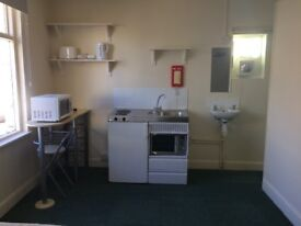 Lovely double room with own shower and mini kitchen