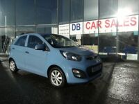 2013 63 KIA PICANTO 1.0 2 5D 68 BHP **** GUARANTEED FINANCE **** PART EX WELCOME