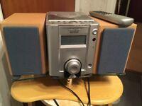 CD and CLOCK RADIO