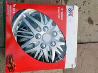 Autocare 15in wheel trims as new