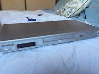 Silver Panasonic DVD player