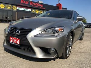 2014 Lexus IS 250 Loaded w/ Navi, Bluetooth, Leather Seats