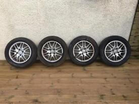 "Ford Focus ghia alloys wheels 15"" escort fiesta"