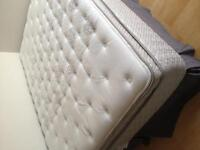 Queen Mattress with Boxspring and stand