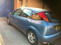 2000 FORD FOCUS AUTOMATIC LOW MILEAGE 80,000 PRIVATE PLATE INCLUDED