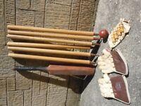 vintage cricket equipment