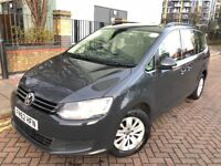 VW Sharan SE 2013 (62reg) Automatic,Diesel, Excellent condition,HPI clear, PCO, Timing belt changed.