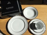 Royal Doulton PLATINUM dinner service - NEW
