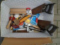 Joblot of tools