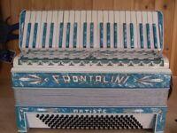 Frontalini, Art Deco (1930's), 4 Voice, Musette Tuned, 120 Bass, Piano Accordion.