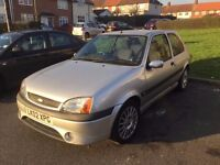 ford fiesta zetec s,mk 5,phase 2,no mot,starts and drives,needs a clutch,£500