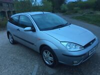 2004 04 FORD FOCUS ZETEC TDI DIESEL MOT'D DELIVERY AVAILABLE ANY WHERE IN UK PART EX WELCOME
