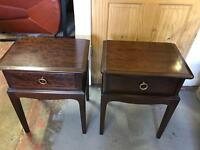 STAG BEDSIDE CABINETS