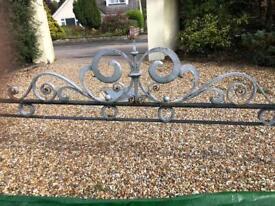 Cast Iron Gate Entrance