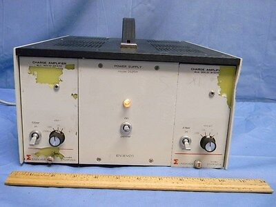 Endevco Power Supply 2629e Mainframe Wcharge Amplifiers 2710fm13 Fm14 2629b Ps