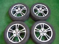 """ACE 16"""" ALLOY WHEELS TO FIT FORD FOCUS, MONDEO, GALAXY, TRANSIT CONNECT, S-MAX"""