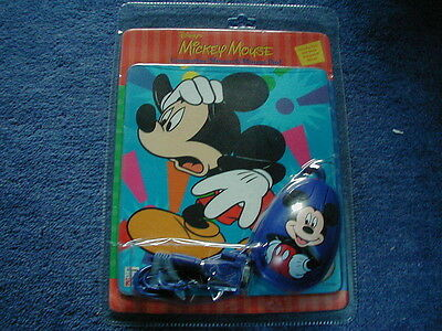 Disney Mickey Mouse Computer Mouse & Mousemat NEW RARE