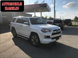 2016 Toyota 4Runner limited cuir toit 7 places mags full bas kil