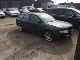 Audi a4 b6 estate 1.9 tdi 6 speed breaking all for parts